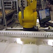 Custom scanning system for measuring IV bags