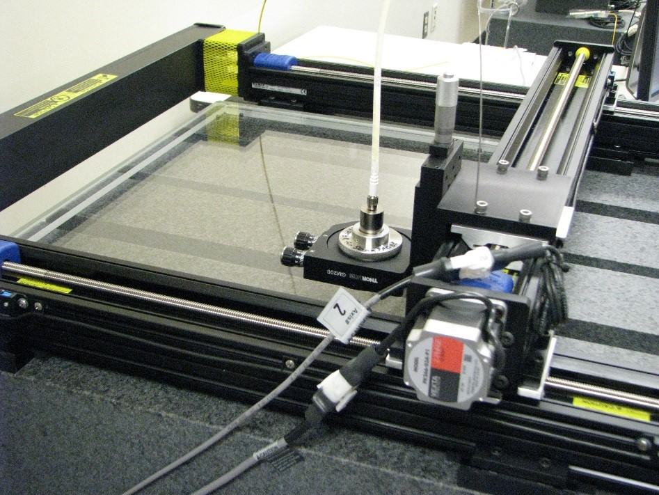 High Precision specialty scanner for glass plates